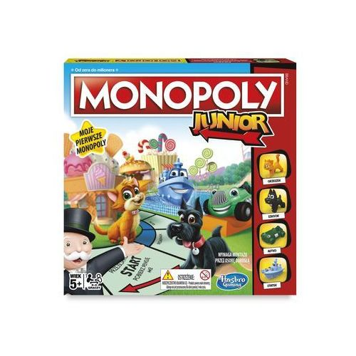 Monopoly Junior - Hasbro, 1_586384