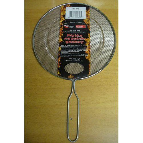 Płytka na palnik gazowy 20 cm zapobiega przypalaniu