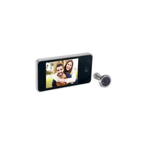 """Wideo-wizjer do drzwi 3,2"""" srebrny ORNO OR-WIZ-1103/G"""
