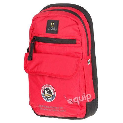 Torba na ramię National Geographic Explorer Sling Bag - czerwony, kolor czerwony