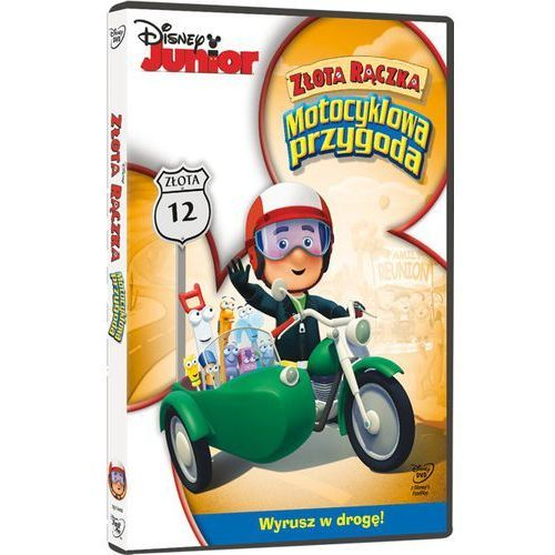 Złota Rączka. Motocyklowa przygoda (DVD)