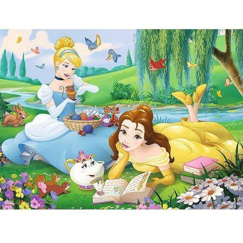 30 elementów, princess - bella i kopciuszek marki Trefl