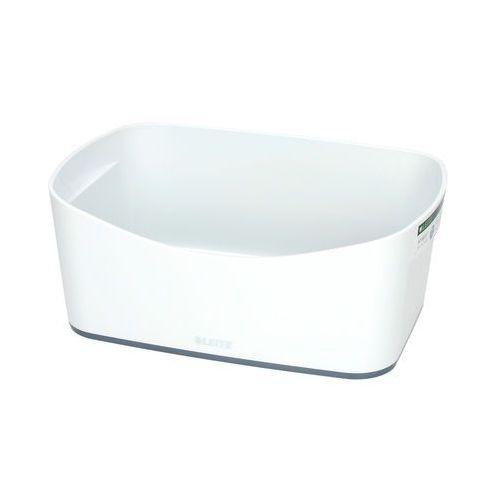 Esselte Pojemnik bez pokrywki biało/szary mybox leitz