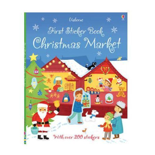 First Sticker Book Christmas Market, Maclaine, James