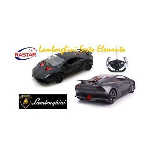 Duże Zdalnie Sterowane Lamborghini Sesto Elemento (1:14) + Pilot.