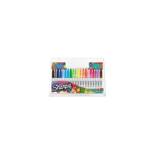 Sharpie sanford brands Markery permanentne sharpie 20 kolorów fine (3026980611286)
