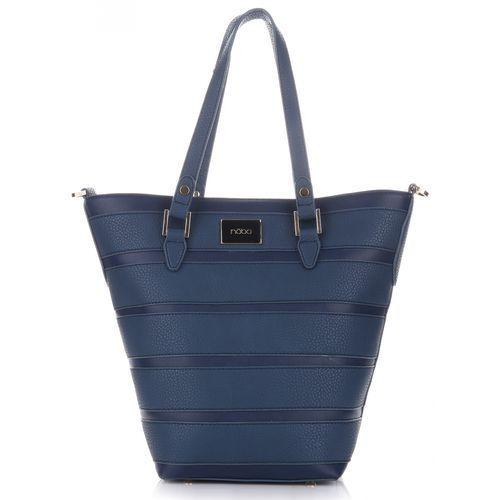 Klasyczna Torebka Damska firmy Nobo Granat, kolor niebieski
