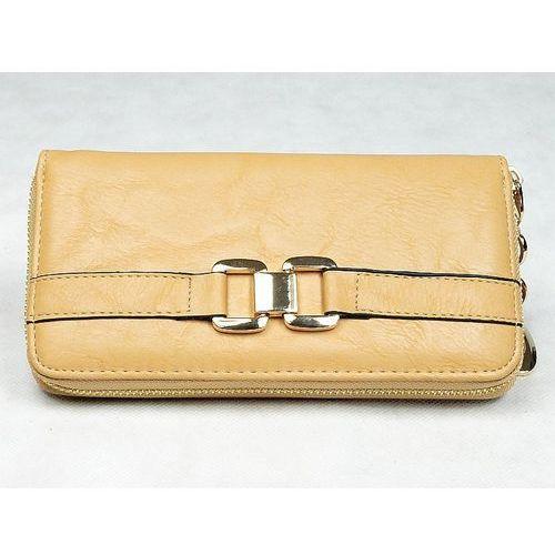 3fde3c86b52b0 Yuhe Ekskluzywny pojemny portfel damski świetny prezent - naturalny