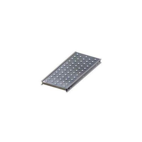 Stół kulowy, wys. konstrukcji 70 mm, szer. przenośnika 400 mm, dł. 1000 mm, podz marki Gura fördertechnik