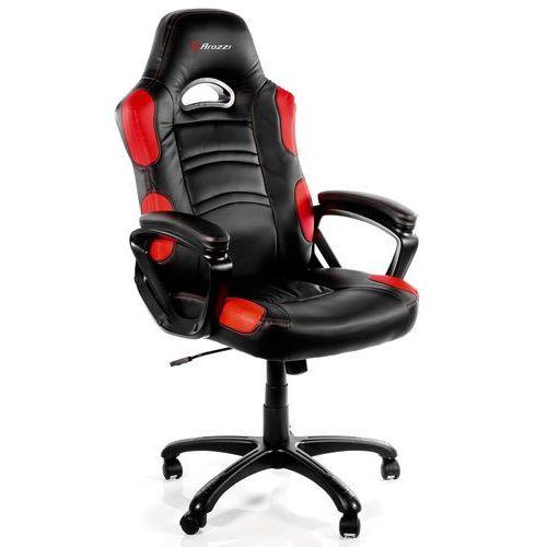 Fotel enzo czarno-czerwony + darmowy transport! marki Arozzi