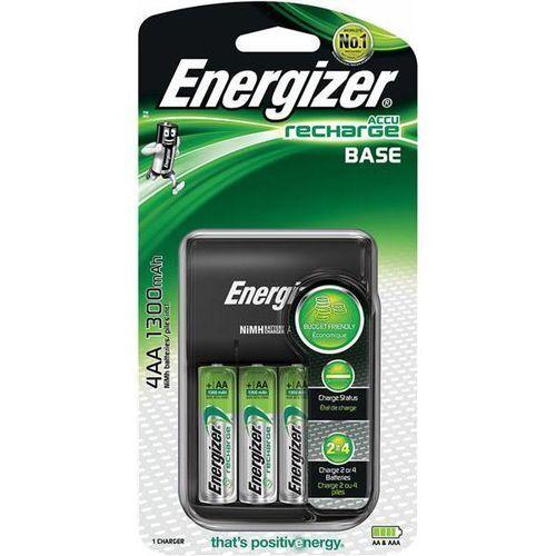 Energizer Ładowarka base + 4 szt. akumulatorków aa (7638900421422)
