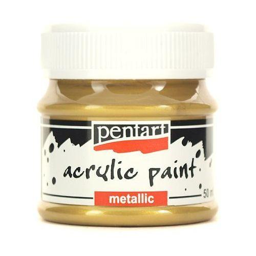 Farba metaliczna 50 ml - złota antyczna - ZŁOANT