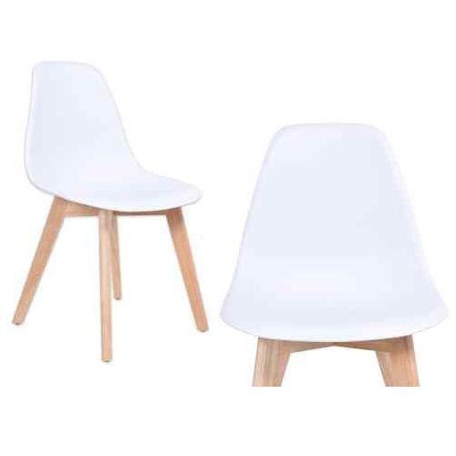 Gockowiak Krzesło asti - białe