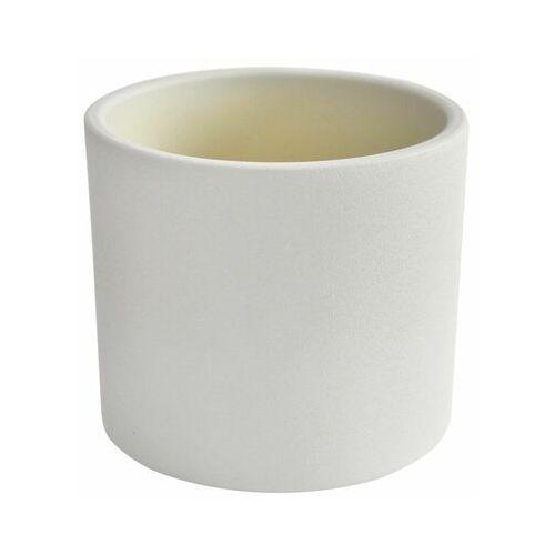 Osłonka ceramiczna 17 cm biała walec marki Ceramik