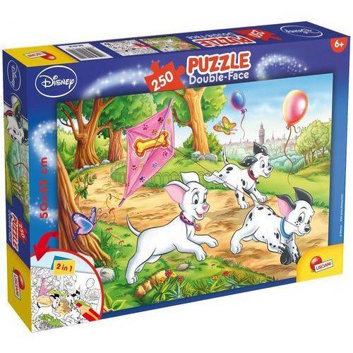 Liscianigiochi Puzzle 250 dwustronne maxi 101 dalmateńczyków (8008324048120)
