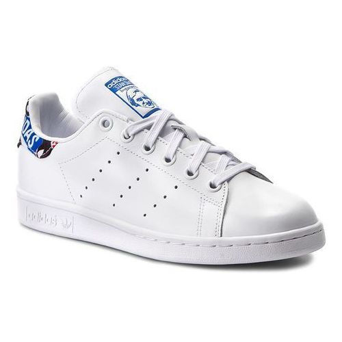 Buty adidas - Stan Smith CP725 Ftwwht/Blue/Cblack