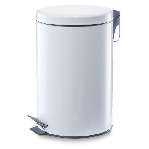 Kosz na śmieci ZELLER 12L Biały (4003368187013)