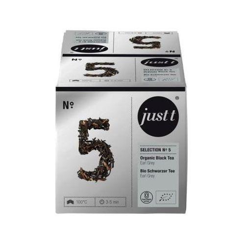 Herbata Just T Organic Black Tea Earl Grey teapot bag -10szt NO.5, kup u jednego z partnerów
