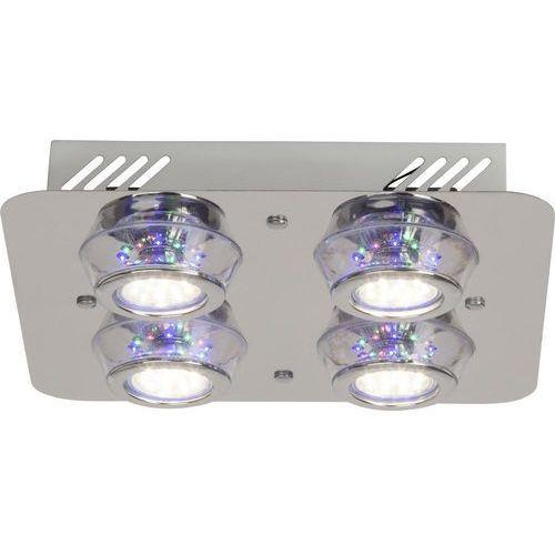 Lampa sufitowa Kelly Brilliant G94410/15, GU10, (DxSxW) 30 x 30 x 7 cm, chrom (4004353219450)
