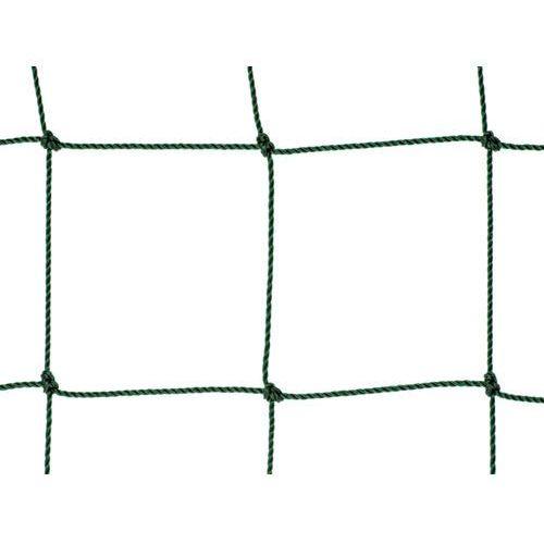Siatka na ogrodzenia boisk. Piłkołap polietylenowy oko 120mm x 120mm splotka fi 2,5mm.