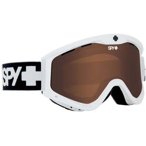 Gogle snowboardowe - t3 whte bro (bro) marki Spy