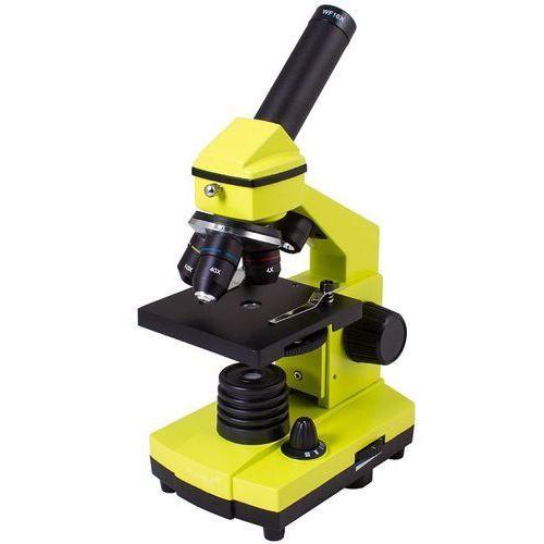 Mikroskop LEVENHUK Rainbow 2L PLUS Limonkowy + DARMOWY TRANSPORT! (0611901506548)