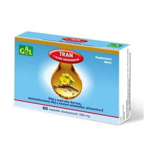 Kapsułki Tran z olejem wiesiołkowym 60 kaps.