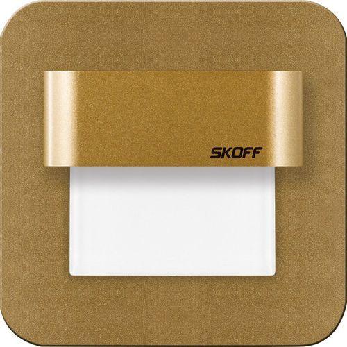 SKOFF Oprawa LED SALSA mosiądz mat [obud. Aluminium + lakier] WW (biały ciepły)