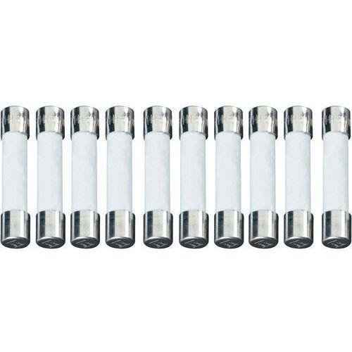 Bezpiecznik 6.3 mm x 32 mm 6.3 A 500 V Szybki -F- ESKA 632525 Zawartość 500 szt., 632525