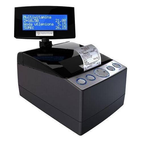 Novitus Delio apteka e pierwsza na polskim rynku, najwyższej klasy, wyjątkowo szybka i funkcjonalna drukarka fiskalna realizująca rejestrację kopii wydruków na elektronicznym nośniku danych, przeznaczona do pracy w aptekach