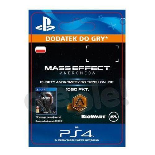 OKAZJA - Mass effect andromeda 1050 pkt [kod aktywacyjny] marki Sony