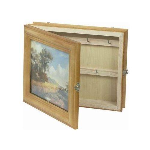 Skrzynka na klucze 24,5 x 30,5 x 6,7 cm marki Agamet