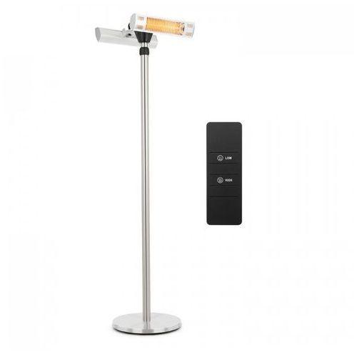 Blumfeldt heat guard pro grzejnik tarasowy na podczerwień 2x1500w ip44 srebrny