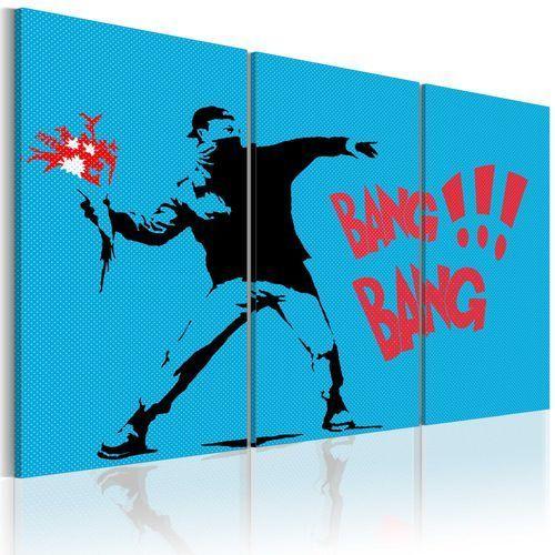 Obraz - Bang bang! - triptych