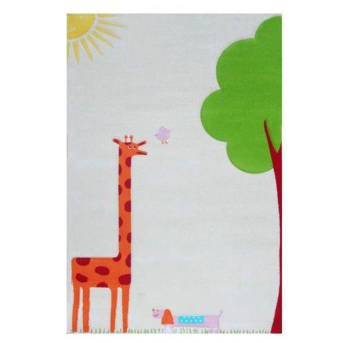 Ivi Dywan żyrafa soft play 134 x 180 cm kremowy