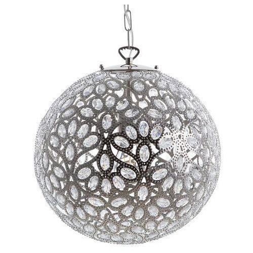 Lampa wisząca srebrna volta marki Beliani