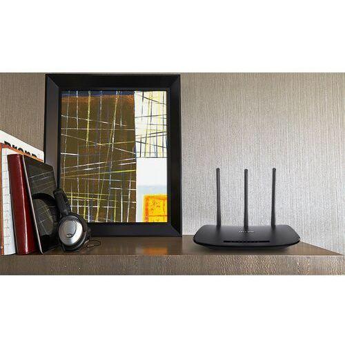 wr940n router xdsl wifi n300 (2.4ghz) 1xwan 4x10/100 lan 2x3dbi marki Tp-link