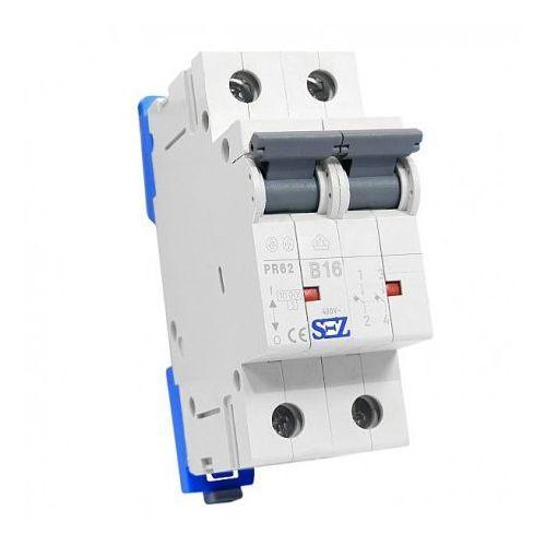 B16A 2P 10kA Wyłącznik nadprądowy bezpiecznik Typ S eska PR62 SEZ 0418 (8585009000418)