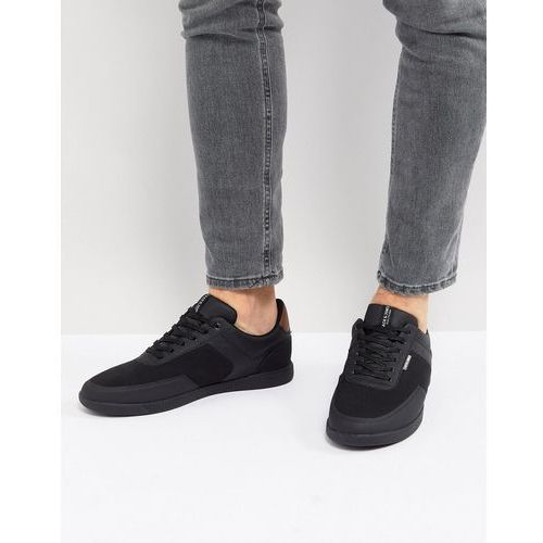 Jack & Jones Trainers In Triple Black - Black