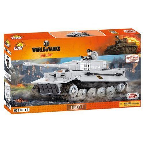 Cobi Cobi, Small Army, World of Tanks, Tiger I, klocki, 555 elementów Cobi, Small Army, World of Tanks, Tiger I, klocki, 555 el. Cobi, Small Army, World of Tanks, Tiger I, klocki, 555 el., zestaw z el. z zakresu 555szt.
