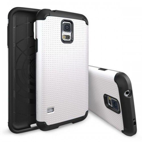 RINGKE MAX GALAXY S5/S5 NEO WHITE (Futerał telefoniczny)