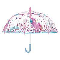 Parasol manualny unicorn - jednorożec marki Perletti
