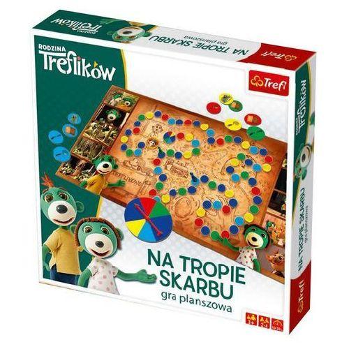 Trefl Gra na tropie skarbu - rodzina ikow - trefl (5900511015614)