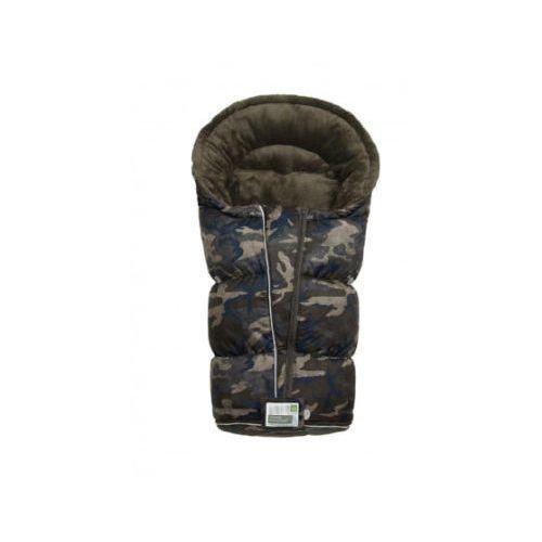 śpiworek do wózka camouflage stone/bleu/sand marki Odenwälder