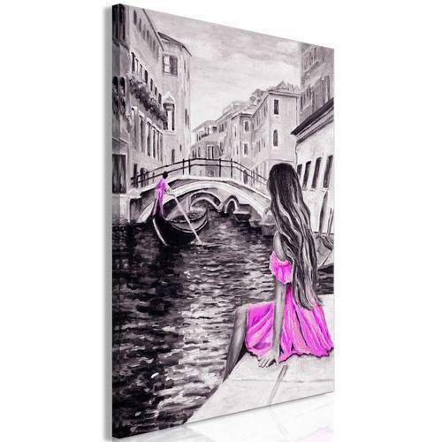 Obraz - Dalekie marzenia (1-częściowy) pionowy różowy
