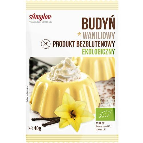 Amylon Budyń waniliowy bio40g (8594006666497)