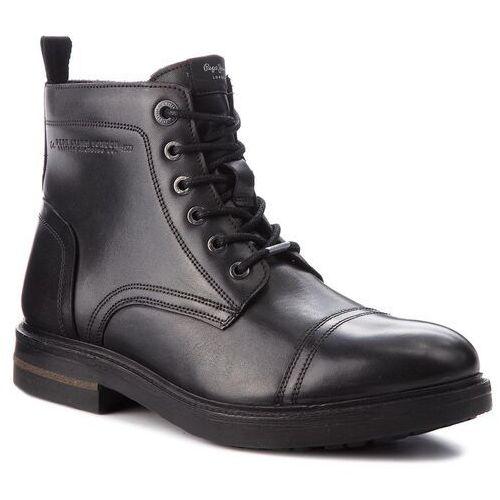 Kozaki - hubert boot pms50159 black 999 marki Pepe jeans