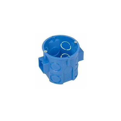 SIMET Puszka instalacyjna podtynkowa łączona, głęboka z wkrętami Ø 60 S60Dw niebieska 34069203 (5907813203619)