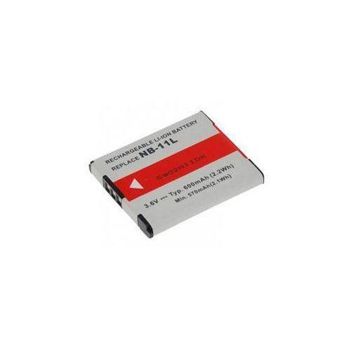 Baterie do kamer wideo / fotoaparatów dla canon nb-11l/nb-11lh li-ion 3,7v 600mah (dica-nb11-335) marki Avacom