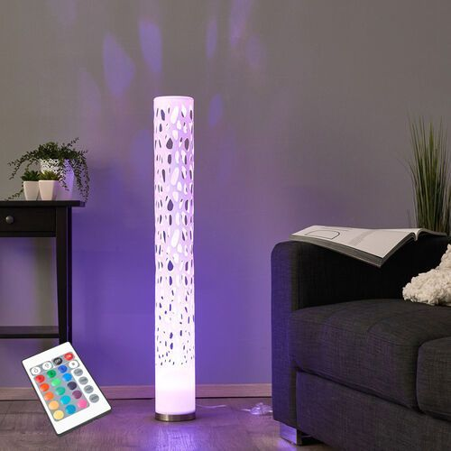 Dekoracyjna lampa stojąca LED RGB ALISEA